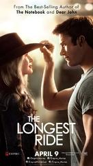 The Longest Ride - Lebanese Movie Poster (xs thumbnail)