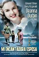 The Amazing Mrs. Holliday - Spanish DVD movie cover (xs thumbnail)