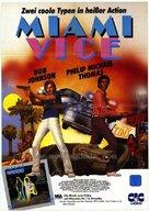 """Miami Vice"" - German DVD movie cover (xs thumbnail)"