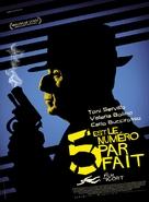 5 è il numero perfetto - French Movie Poster (xs thumbnail)