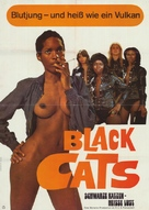 Black Alley Cats - German Movie Poster (xs thumbnail)