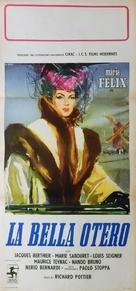 La bella Otero - Italian Movie Poster (xs thumbnail)