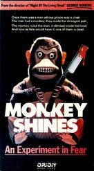 Monkey Shines - VHS cover (xs thumbnail)