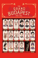 The Grand Budapest Hotel - DVD cover (xs thumbnail)
