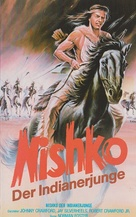 Indian Paint - German VHS movie cover (xs thumbnail)