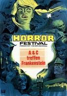 Bud Abbott Lou Costello Meet Frankenstein - German Movie Poster (xs thumbnail)