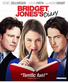 Bridget Jones's Diary - Blu-Ray movie cover (xs thumbnail)