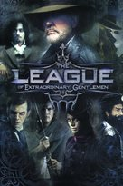 The League of Extraordinary Gentlemen - DVD cover (xs thumbnail)