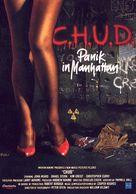 C.H.U.D. - German Movie Poster (xs thumbnail)
