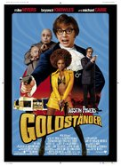Austin Powers in Goldmember - German Movie Poster (xs thumbnail)