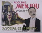 A Social Celebrity - Movie Poster (xs thumbnail)