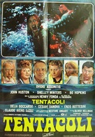 Tentacoli - Italian Movie Poster (xs thumbnail)