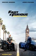 Fast & Furious Presents: Hobbs & Shaw - Swiss Movie Poster (xs thumbnail)
