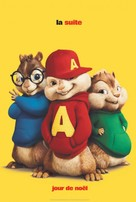 Alvin and the Chipmunks: The Squeakquel - Canadian Movie Poster (xs thumbnail)