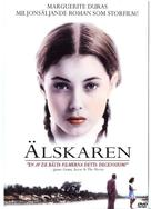 L'amant - Swedish DVD cover (xs thumbnail)