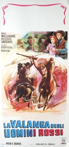 Apache Ambush - Italian Movie Poster (xs thumbnail)