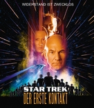 Star Trek: First Contact - German Blu-Ray movie cover (xs thumbnail)