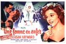 I'll Cry Tomorrow - French Movie Poster (xs thumbnail)