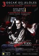 Sweeney Todd: The Demon Barber of Fleet Street - Hungarian Movie Poster (xs thumbnail)