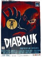 Diabolik - Italian Movie Poster (xs thumbnail)
