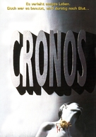 Cronos - German DVD cover (xs thumbnail)