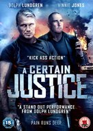 A Certain Justice - British DVD movie cover (xs thumbnail)