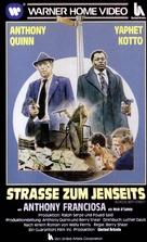 Across 110th Street - German VHS movie cover (xs thumbnail)