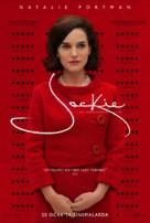 Jackie - Turkish Movie Poster (xs thumbnail)