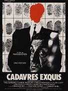 Cadaveri eccellenti - French Movie Poster (xs thumbnail)
