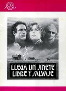 Comes a Horseman - Spanish poster (xs thumbnail)