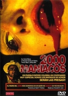 Two Thousand Maniacs! - Spanish DVD cover (xs thumbnail)