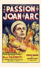 La passion de Jeanne d'Arc - Movie Poster (xs thumbnail)