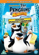 """""""The Penguins of Madagascar"""" - British DVD movie cover (xs thumbnail)"""