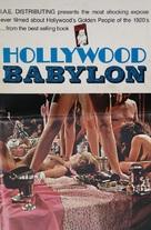 Hollywood Babylon - Movie Poster (xs thumbnail)