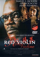 The Red Violin - German DVD cover (xs thumbnail)