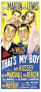 That's My Boy - Australian Movie Poster (xs thumbnail)