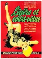 Légère et court vêtue - French Movie Poster (xs thumbnail)