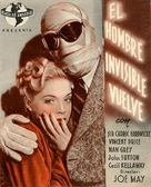 The Invisible Man Returns - Spanish Movie Poster (xs thumbnail)