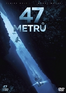 47 Meters Down - Czech DVD movie cover (xs thumbnail)