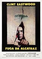 Escape From Alcatraz - Italian Theatrical poster (xs thumbnail)