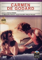 Prénom Carmen - Brazilian DVD cover (xs thumbnail)