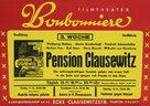 Pension Clausewitz - German Movie Poster (xs thumbnail)
