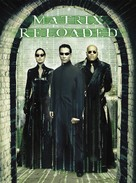 The Matrix Reloaded - German DVD movie cover (xs thumbnail)