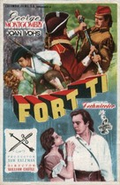 Fort Ti - Spanish Movie Poster (xs thumbnail)