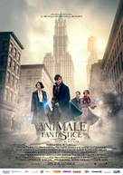 Fantastic Beasts and Where to Find Them - Romanian Movie Poster (xs thumbnail)