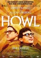 Howl - German Movie Poster (xs thumbnail)