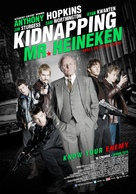 Kidnapping Mr. Heineken - Lebanese Movie Poster (xs thumbnail)