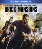 Brick Mansions - Blu-Ray movie cover (xs thumbnail)