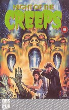 Night of the Creeps - British VHS movie cover (xs thumbnail)