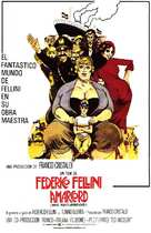 Amarcord - Spanish Movie Poster (xs thumbnail)